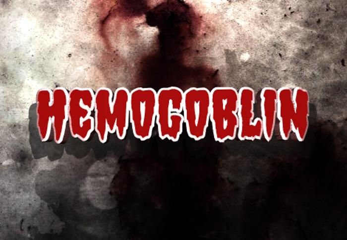 Hemogoblin Font poster
