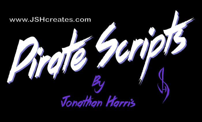 Pirate Scripts Font poster