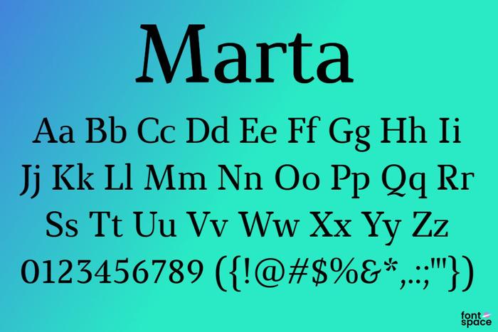 Marta Font poster