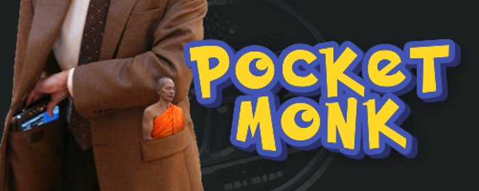 Pocket Monk Font poster