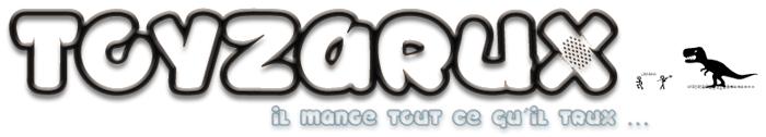 TOYZARUX Font poster