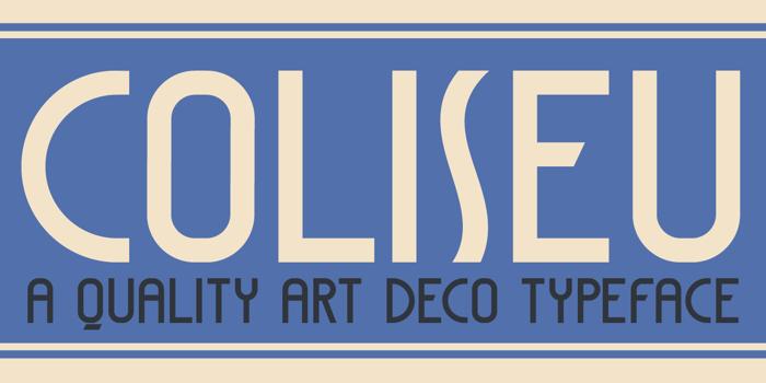 DK Coliseu Font poster