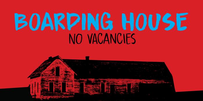 DK Boarding House I Font poster