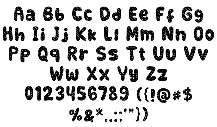 Retrofield Textured Font
