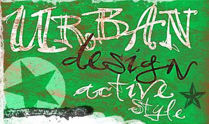 vtks 38 Font poster