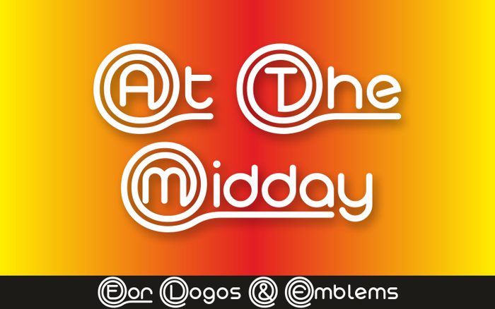 At The Midday Demo Font