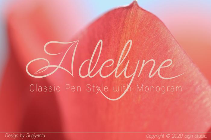 Adelyne Font poster
