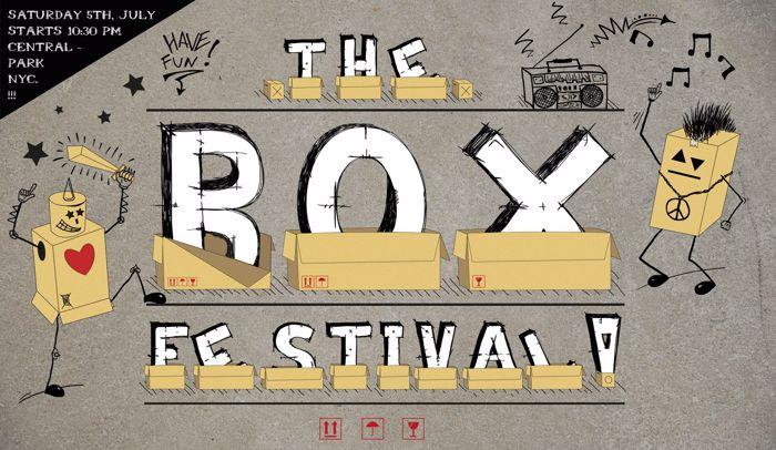 Box Font poster