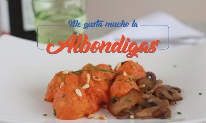 Albondigas Font poster