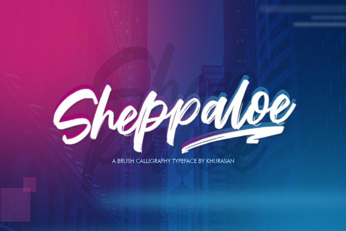 Sheppaloe Font poster