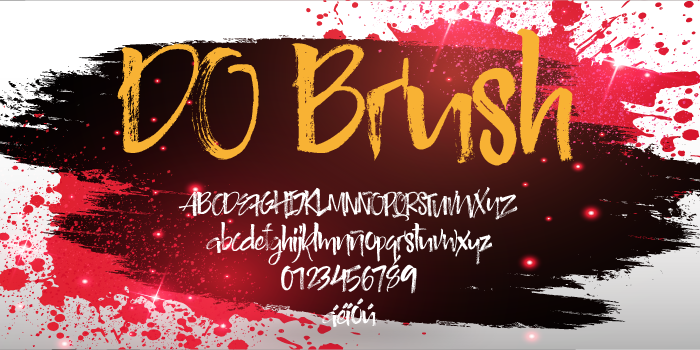 DO Brush Font