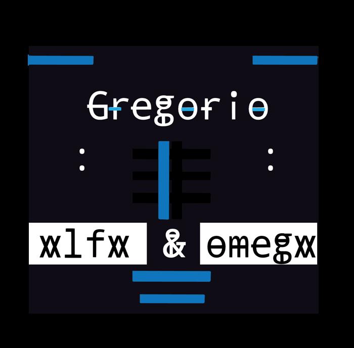 gregoryo Font poster