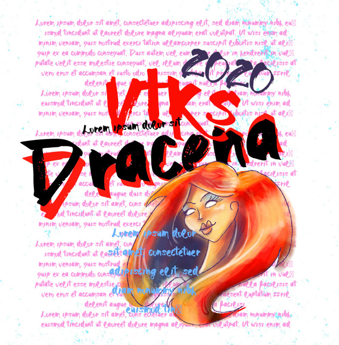 Vtks Dracena Font poster