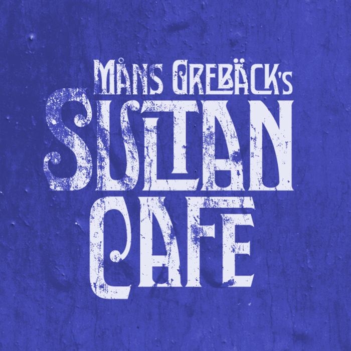 Sultan Cafe Font poster