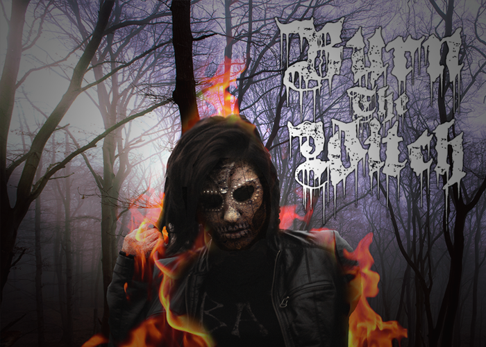 Burn The Witch Font poster