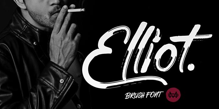 Elliot Font poster