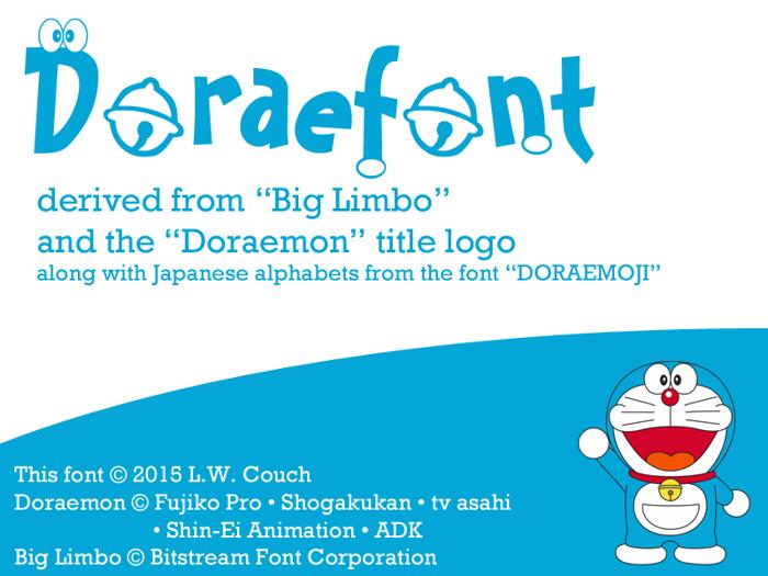 Doraefont Font poster