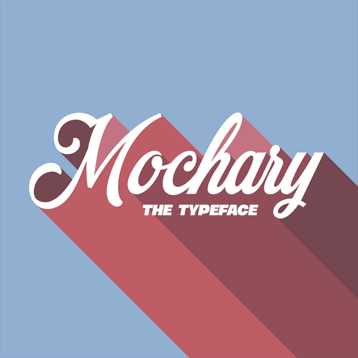 Mochary Font poster