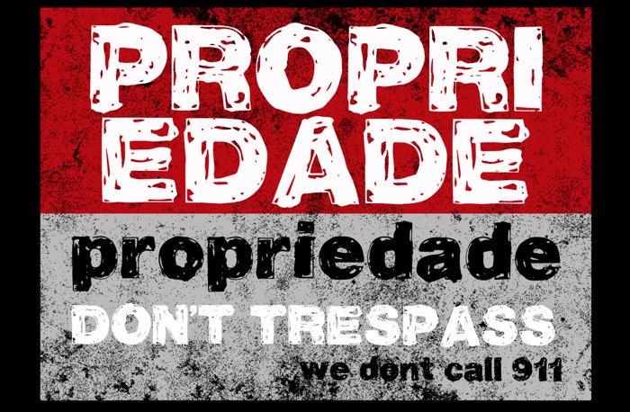 Vtks Propriedade Font poster