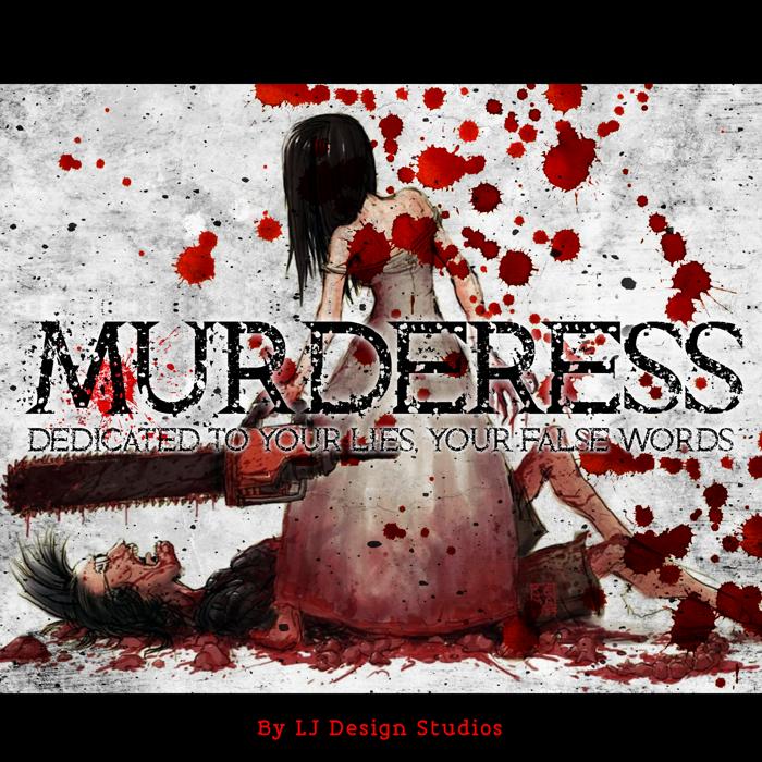 Murderess Font poster