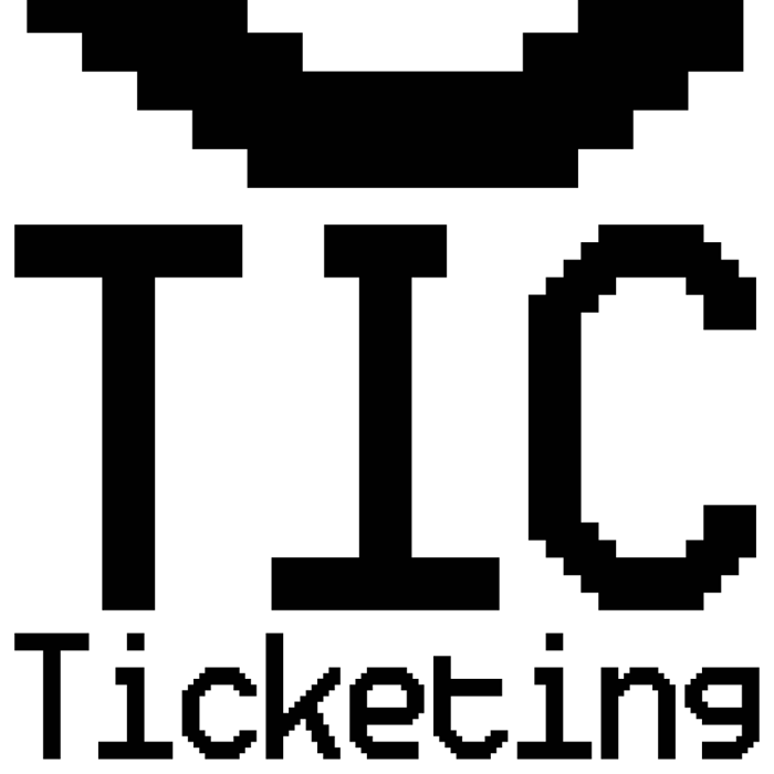 Ticketing Font poster