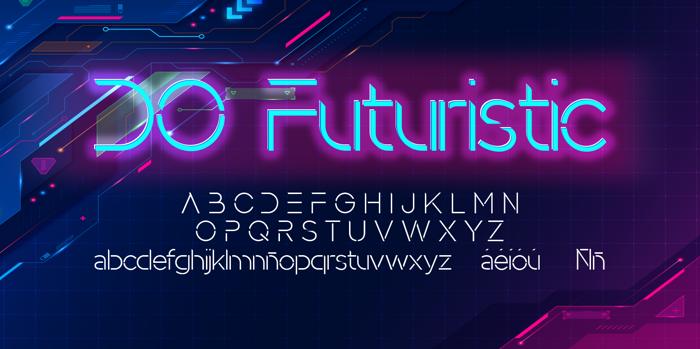 DO Futuristic Font
