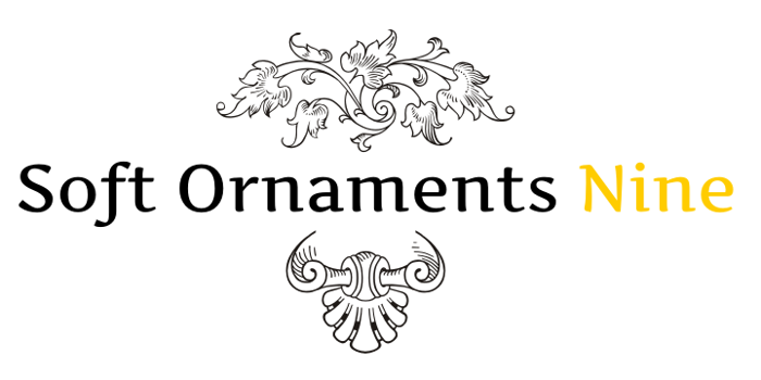 Soft Ornaments Nine Font poster
