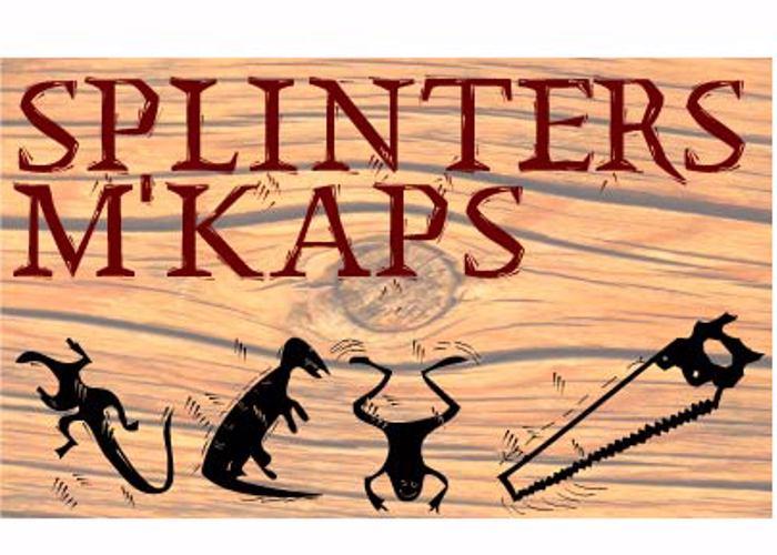 SplinterMKaps Font poster