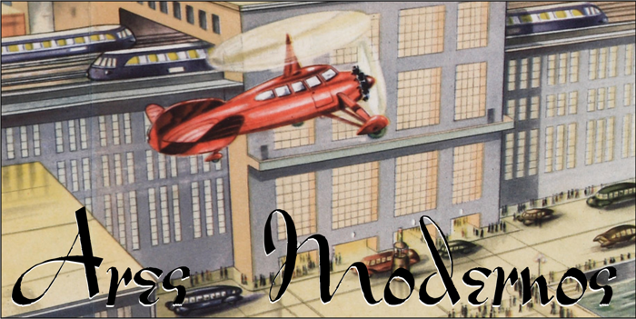 Ares Modernos Font poster