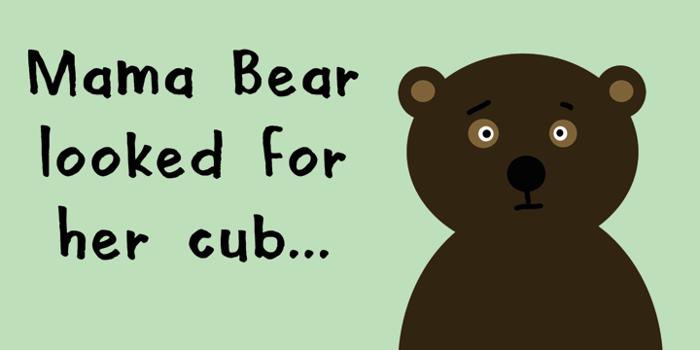 DK Mama Bear Font poster