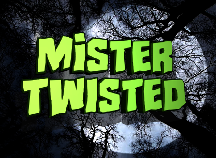 Mister Twisted Font poster