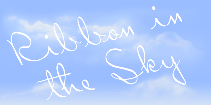 Ribbon in the Sky Font