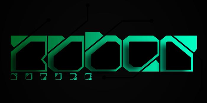 Zuber future Font poster