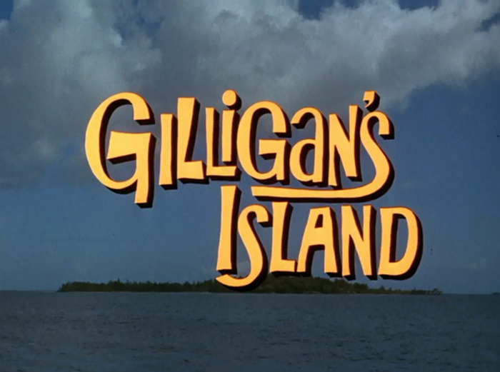 Gilligans Island Font poster