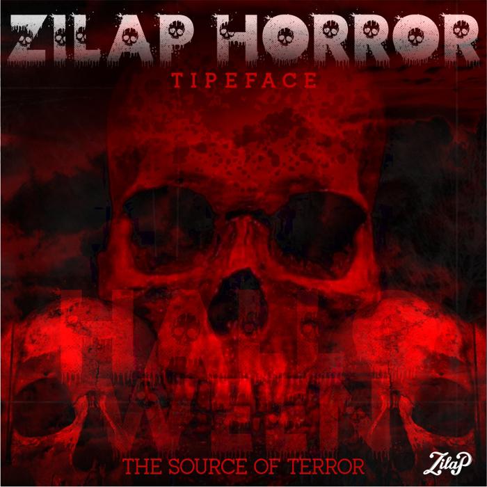 Zilap Horror Font poster