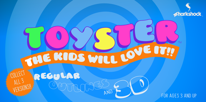 Toyster Font poster