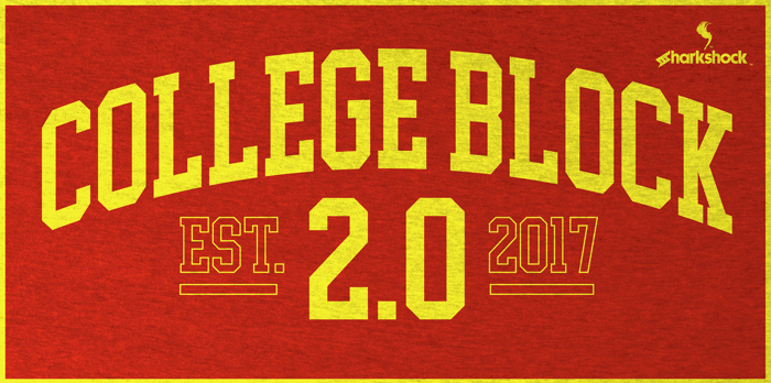College Block 2.0 Font poster