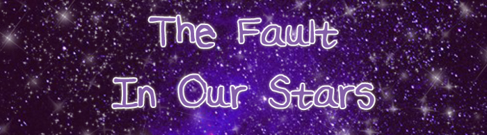TheFaultInOurStars Font poster