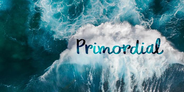 DK Primordial Font poster