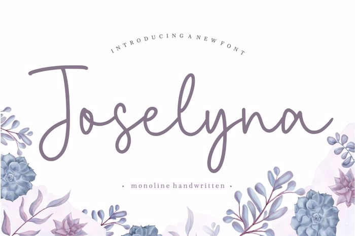 Joselyna Font poster