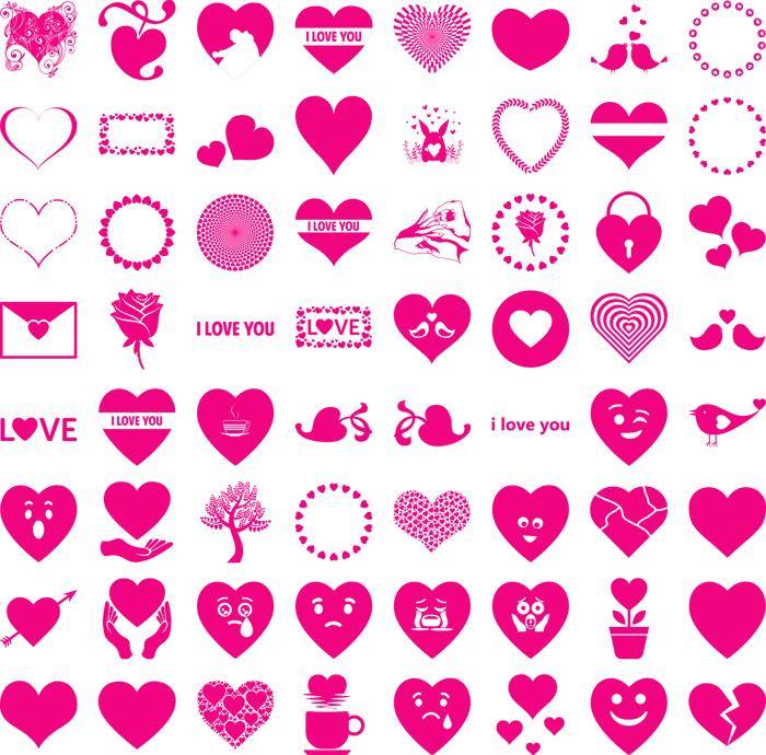Font I Love You poster