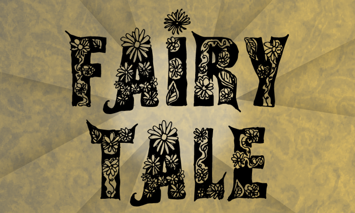 Fairy Tale Font poster