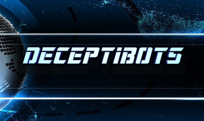 Deceptibots Font poster