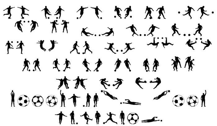 Soccer II Font poster