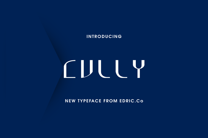 Cully Mac Font poster