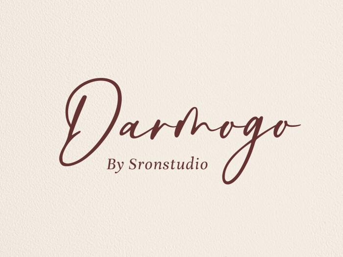 Darmogo Font poster