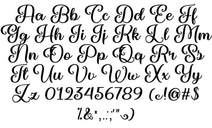 Marienkaefer Font poster