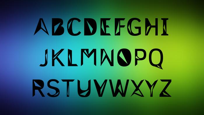 Trislanoe Font poster