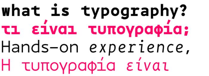 BPmono Font poster