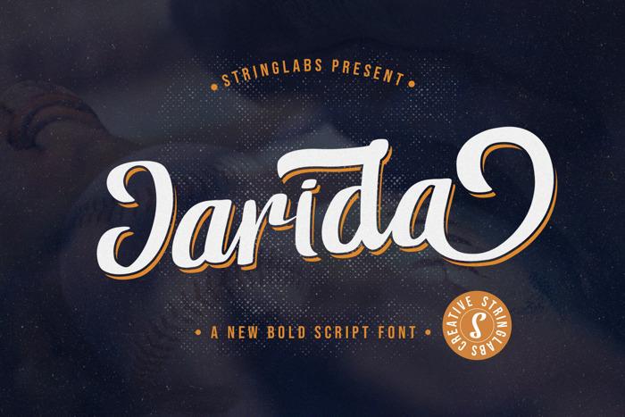Jarida Font poster